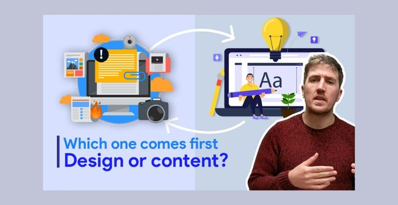design or content First